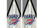 2 Oklahoma City Thunder Cornhole Wraps -Pair of Board Decals - BASKETBALL - NBA on eBay