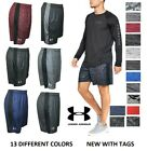 NEW Mens Under Armour Gym Loose HeatGear Athletic Graphic Logo Shorts M L XL XXL