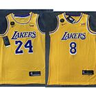 NWT Men's Kobe Bryant Jersey Los Angeles Lakers Kobe Tribute KB Patch 2020🔥🔥 on eBay