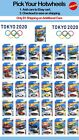 Summer 2020 Hot Wheels Tokyo Olympics, You Pick, L K Case, Save on Ship, Part #2 $1.99 USD on eBay