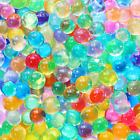 15,000 Colorful Water Gel Beads For Kids Sensory Toys, 10 Colors 2 Sizes, Water