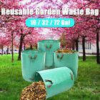 Garden Waste Bag Recycling Reusable Waterproof Portable Rubbish Leaves