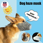 3XDog Cat Mouth Mask Anti Smoke Fog Pollution Breathable Muzzle Pet Face Cover