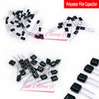 DIP Polyester Film Capacitor 100V  2A102J TO 2A104J 2A474J 102 104 474 1nF 100nF