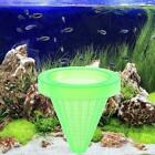 Aquarium Basket Feeder With Suction Cup Fish Food Spread Coned D7r6 Feeder P8y8