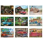 5D DIY Full Drill Diamond Painting Car Scenery Pattern Home Decor Needlework