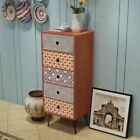 Retro Bedside Cabinet Console Table Chest of Drawer Storage Organizer Nightstand
