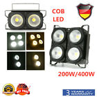 400W/200W COB LED PAR Blinder Audience Light Anti Glare Lamp Background Wedding