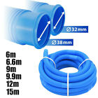 Ø32/38 mm Swimming Pool Vacuum Hose Pipe Flexible Filter Connection Tube Cleaner
