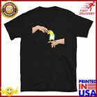 Scritching A White Bellied Caique T Shirt Parrot Owner Lover Tee Birb Memes Clot