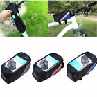 Bicycle Sport Match Frame Front Pannier Saddle Tube Bag Cell Phone Pouch Holder