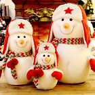 Snowman Doll Christmas Ornament Toy Table Tree Topper Decorations Xmas Gifts