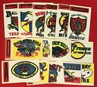 1961 Topps Football Flocked Sticker Inserts (Pick your Team) $26.0 USD on eBay