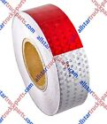"""Conspicuity Tape DOT-C2 Reflective Truck Trailer Safety Red White: 1""""/2""""/3"""" Wide"""