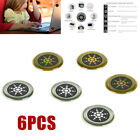 6 Anti Radiation Protection Sticker EMF Protector Quantum Shield For Cell Phone