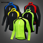 Maillot Ciclismo Transpirable Manga Larga Camiseta de MTB Cycling Jersey Tops