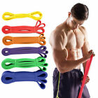 Workout Resistance Bands Exercise Band Equipment Gym Yoga Fitness Pull Up Assist image