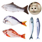 3Pcs Cat Toys Fish Realistic Plush Toy Simulation Catnip Gift Pet Chewing Gift