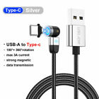 3A Magnetic Fast Charging Cable Type-C Micro USB Lightning For iPhone 12 Max X 7