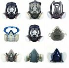 Full/Half Face Gas Mask Respirator Painting Spraying Safety Protection Facepiece