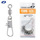 OCEAN CAT American Swivel with B Safety Snaps Fishing Kit Inter Hooked Tackle