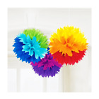 RAINBOW PARTY THEME DECORATIONS AND TABLEWARE
