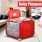 51in Baby Playpen Fence Play Yard Folding Safety Game Tent For Children