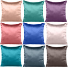 Pillow Case Cushion Cover Satin Silk Soft Luxurious Pillow Cover Christmas Decor
