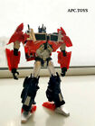 In Stock Transformation APC Toys First Edit TFP Attack Prime Chrome Figure