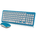 2.4GHz Wireless Keyboard and Cordless Optical Mouse for PC Laptop Win7/8/10