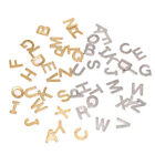100pcs Random Stainless Steel A-Z Letter Charms Alphabets for DIY Crafts Making