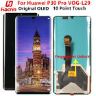 Oringinal OLED For Huawei P30 Pro LCD Display Touch Screen Frame Fingerprint