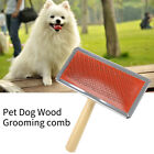 Dog Hair Comb Comb Needle Brush Pet Cleaning Furwood Handle