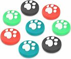 8pcs Silicone Joycons Thumb Stick Grip Caps Cover For Nintendo Switch Joy Con