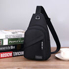 Men Women Chest Sling Shoulder Bag Cross Body Fanny Pack Sports Travel Backpack