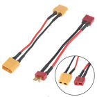 XT60/T plug to Male XT60/T Connector Adapter 14AWG 30MM Extension Cable HFUK