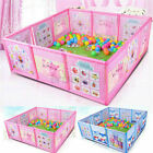 Cartoon Children Kids Play Pen Fence Playpen Baby Safety Pool Game Toddle