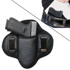 Tactical Leather Gun Holster Inside Waistband Pancake Concealed Carry IWB OWB