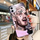 Fitted Soft Case Rapper Lil Peep Phone Case For iPhone 8 PLUS X XS XR 11 PRO MAX