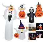 Blow Up Outdoor Yard Decoration Halloween Inflatable Pumpkin Ghost Model& Light