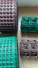 20mm / 50mm Green / Brown Plastic Garden PVC Mesh Wire Fencing  20m Long Roll