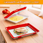 Food Preservation Tray Stackable Reusable Kitchen Refrigerator Storage Tools D5