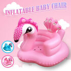Portable Baby Inflatable Chair Sofa Peacock Bath Stool Water-Play Game Seat