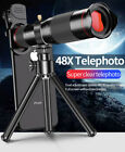 48X 4K HD Zoom Telephoto Phone Camera Lens Tripod For iPhone 11 Pro XS Max 8 7