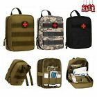Tactical MOLLE Rip-Away EMT IFAK Medical Pouch First Aid Kit Utility Bag Small