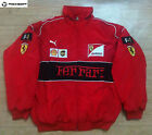 EXCLUSIVE -2018 FERRARI Red Black Embroidery JACKET suit F1 team racing