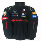 European size MERCEDES-BENZ Embroidery EXCLUSIVE F1 JACKET suit