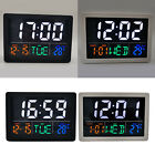 Tabletop Digital Alarm Clock Display Bedside Clock Easy to Reads Decors