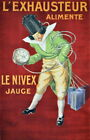 332358 L'Exhausteur alimente Le Nivex Decoative Graphic Design PRINT POSTER DE