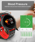 Smart Watch Bracelet Heart Rate Oxygen Blood Pressure Fitness Sport For Android